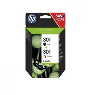 Tinteiro HP Nº301 Pack 4 cores (P, C, M e A)
