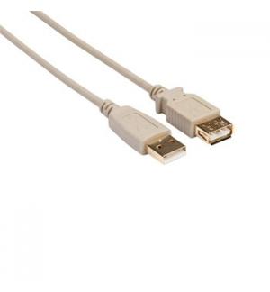 Cabo USB 2.0 Macho / Fêmea Cobre 1.8m Branco