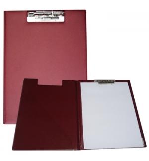 Clip Board Plastico c/Capa e Bolsa Interior Roma 255