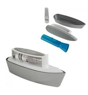 Kit de limpeza ecrans - escova, microfibras,pincel e liquido