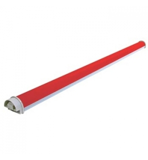 Tubo LED 144 Leds 1030x50mm Vermelho