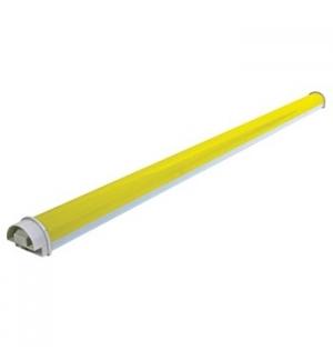 Tubo LED 144 Leds 1030x50mm Amarelo
