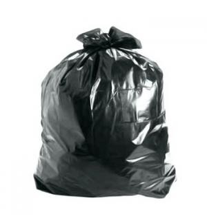 Sacos Lixo Plast 100Lts Preto 21,5my (70x105cm) (Pack 100)