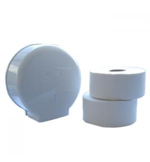 Start Kit Papel Higienico (Jumbo) 2Fls 180mts + Dispensador