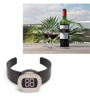 Termómetro Digital para Vinhos Champanhes outras Bebidas