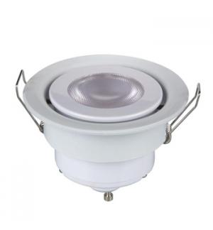 Lampada de tecto embutida com armacao LED 5 W - GU10 - 230V