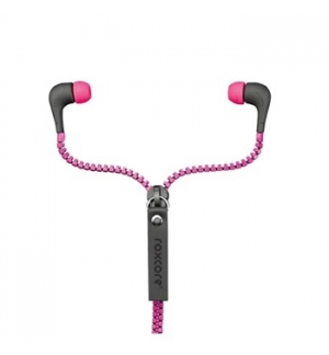 Headphone ROXCORE ZIppers - cor de rosa