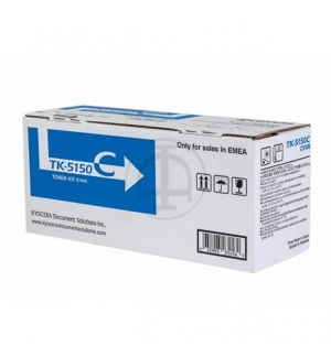 Toner Ecosys M6035/M6535 (TK5150C) Azul