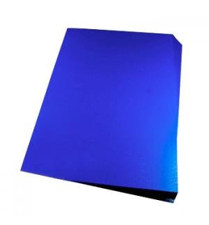 Acetato Encadernacao Opaco Azul 180 microns A4 PACK 100un