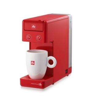 Maquina Cafe ILLY Y3.2 E&C Iperespresso Cor Vermelho