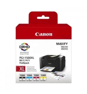 Pack Tinteiros Canon 1500XL 4 Cores 9182B004