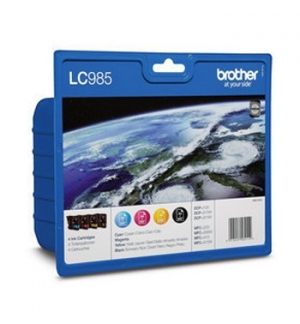 Pack Tinteiros Brother LC985VALBP  4 Cores