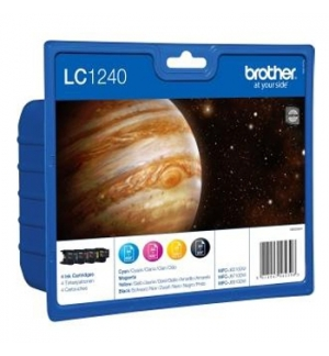 Pack Tinteiros Brother LC1240VALBP 4 Cores