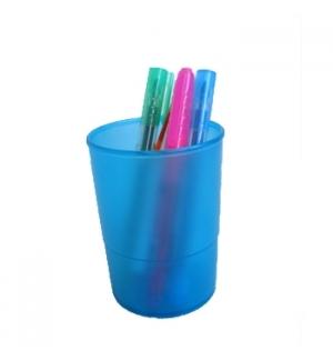 Porta Lapis Translucido Azul