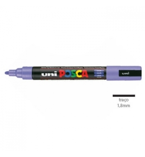 Marcador Uniball Posca PC5M 1,8mm Lilas -1un
