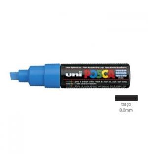 Marcador Uniball Posca PC-8K 8,0mm Azul Claro 1un