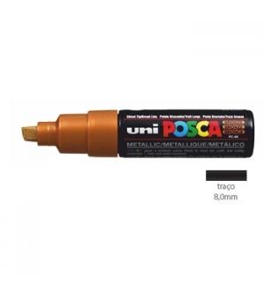 Marcador Uniball Posca PC-8K 8,0mm Bronze 1un