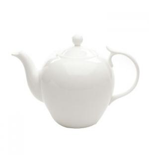 """Bule Branco de cha com filtro """"Bone China"""" 1,4L"""
