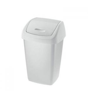 Papeleira Tampa Basculante 25 Litros Branco