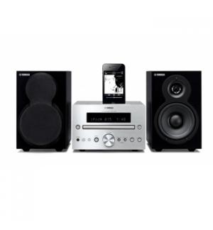 Sistema Micro Hi-Fi Yamaha MCR-232 Prateado e Preto