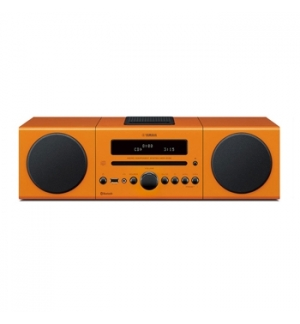 Sistema Micro Hi-Fi Yamaha MCR-142 Laranja