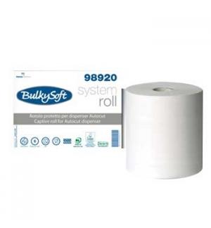 Rolo Toalhas Mão 150mtsx21cm 2Fls BulkySoft 6 Rolos