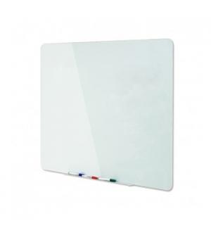 Quadro Vidro Magnetico Branco 90x60cm (GL070101)