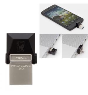 Pen Drive 32GB Kingston DataTraveler microDuo USB 3.0