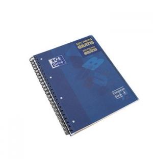 Caderno Espiral Oxford Plastico 3 Separadores A4 Pautado,120