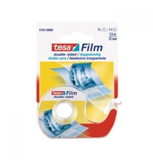 Fita Adesiva Dupla Face Tesa + Desenrolador 12mmx7,5mt