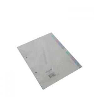 Separadores A5 Cartolina 12un (5 Cores)