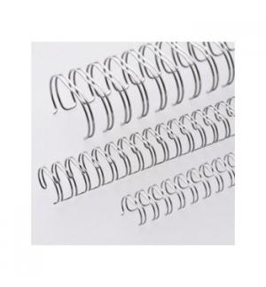 Argolas Metalicas Encadernar Passo 2:1 19 mm Cx50 Prata