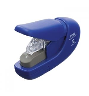 Agrafador sem agrafes Plus Flat-Clinch SL-106AB Azul