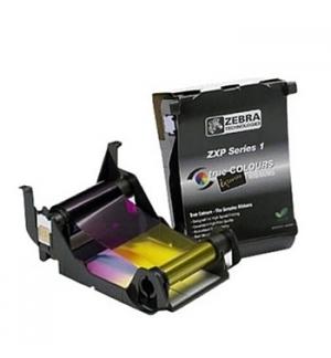 Fita Color YMCKO Zebra ZXP Series 1 (100 Imagens/Rolo)