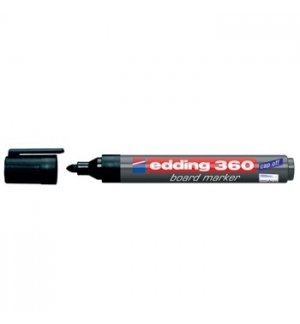 Marcador Quadros Brancos Edding 360 Preto - 1un