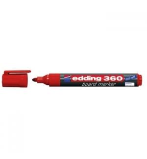 Marcador Quadros Brancos Edding 360 Vermelho - 1un