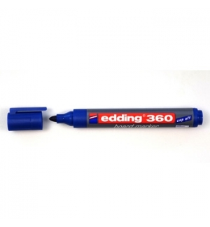 Marcador Quadros Brancos Edding 360 Azul - 1un