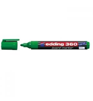 Marcador Quadros Brancos Edding 360 Verde - 1un