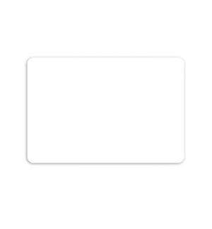 Cartões ZEBRA Brancos sem Banda Magnética 500 unidades
