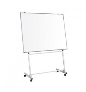 Suporte quadro 150X120cm/90x120cm Branco com Rodas Cinza Cla