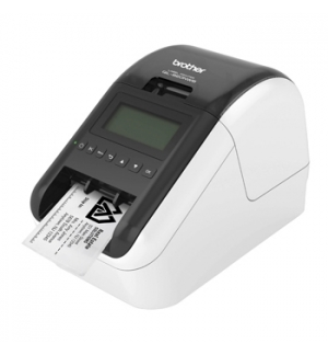 Impressora Termica QL-820NWB Etiquetas Preto/Vermelho