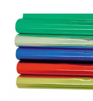 Papel Embrulho Metalizado Rolo 0.50x2mts Sortido