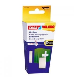 Fita Fixacao Velcro P/Colar Tesa 20mmx1m Preto