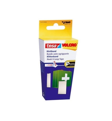 Fita Fixação Velcro Colar Tesa 20mmx1m Preto
