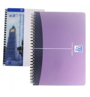 Caderno Espiral Oxford Office Book Capa PP A5 Pautado 90 fls