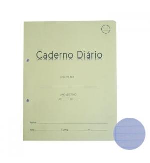 Caderno Diario Pautado 24x19 40fls 60grs 1un