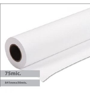 PPC Polyester Film 841mmx50mtsx76,2 75mic Evolution - 1 Rolo