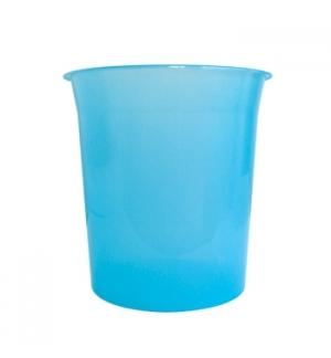 Cesto Papeis Plastico Verde Transparente 15 Litros