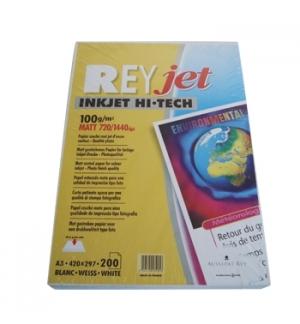 Papel InkJet A3 100gr ReyJet Hi-Tech - 200 Folhas