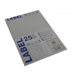 Etiquetas Laser/Copy/Inkjet 45,7x21,2mm 25fls A4 1200un